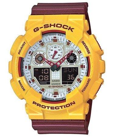 Zegarek Casio GA-100CS-9AER G-Shock
