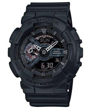 Zegarek Casio GA-110MB-1AER G-Shock Mission Black