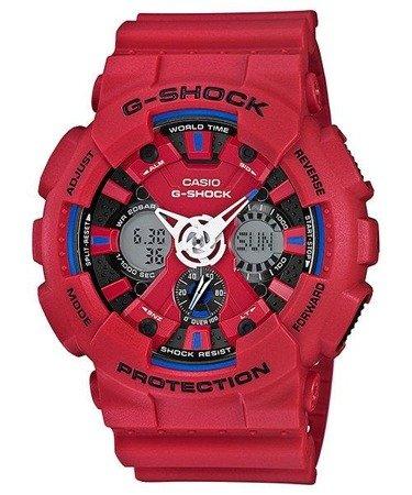 Zegarek Casio GA-120TR-4AER G-Shock TriColor