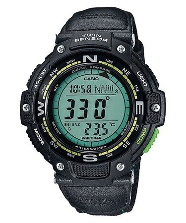 Zegarek Casio SGW-100B-3A2ER OutGear Kompas